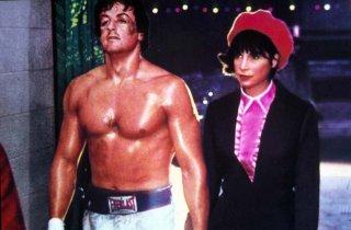 Rocky: Sylvester Stallone e Talia Shire in una scena del film