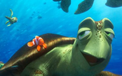 "Finding Dory - Clip ""Totally Sick"""