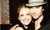 Buffy vs. Vampire Diaries: Sarah Michelle Gellar con Ian Somerhalder!