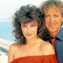 Gene Wilder con Kelly Le Brock in La signora in rosso