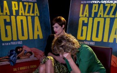 La pazza gioia - Videointervista a  Valeria Bruni Tedeschi e Micaela Ramazzotti
