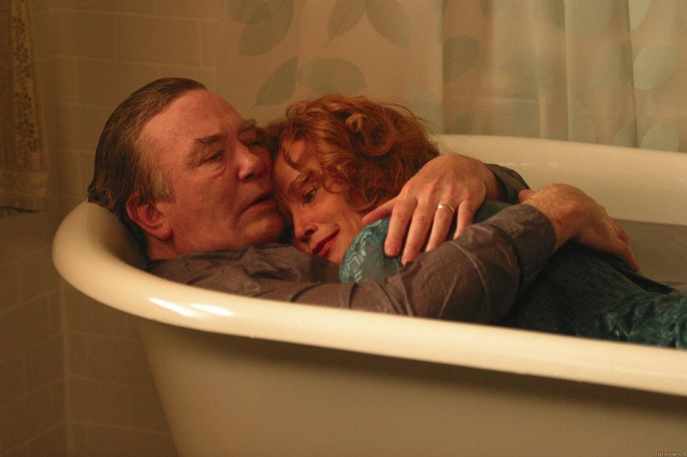 Albert Finney e Jessica Lange in una scena di BIG FISH