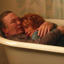 Albert Finney e Jessica Lange in una scena di BIG FISH