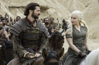 Il Trono di Spade: Michiel Huisman ed Emilia Clarke in Blood of My Blood