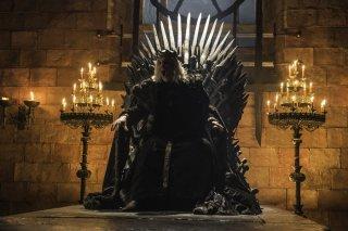 Il Trono di Spade: Aerys Targaryen in un'immagine dell'episodio Blood of My Blood