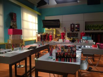 Maggie & Bianca Fashion Friends: il set dello show