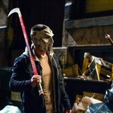 Tartarughe Ninja - Fuori dall'ombra: Stephen Amell in una scena del film