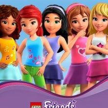 Lego Friends: The Power of Friendship, il poster della serie