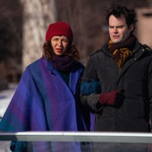 Il piano di Maggie: Maya Rudolph e Bill Hader in una scena del film