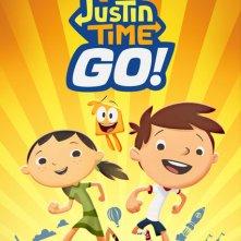 Justin Time Go!: il poster della serie