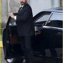 Wolverine 3: Hugh Jackman sale su un'auto