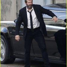 Wolverine 3: Hugh Jackman sul set durante le riprese