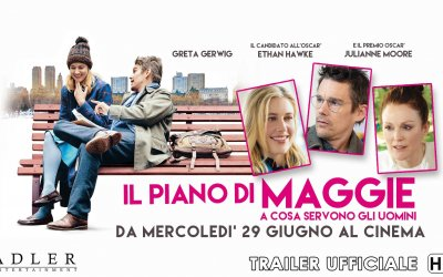 Il piano di Maggie - A cosa servono gli uomini - Trailer Italiano