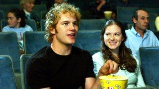 Everwood: Chris Pratt e Sarah Drew in una scena della serie