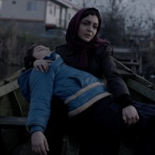 Nahid: Sareh Bayat in una scena del film