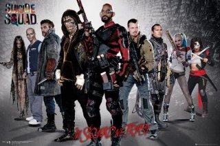 Suicide Squad: il team in un poster