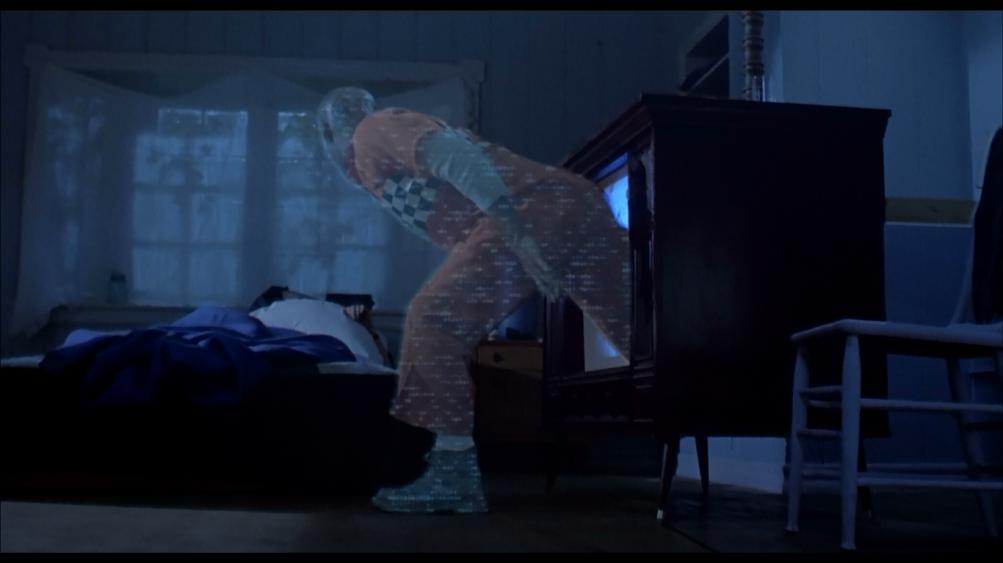 Mitch Pileggi in una scena di Sotto Shock (Shocker) di Wes Craven