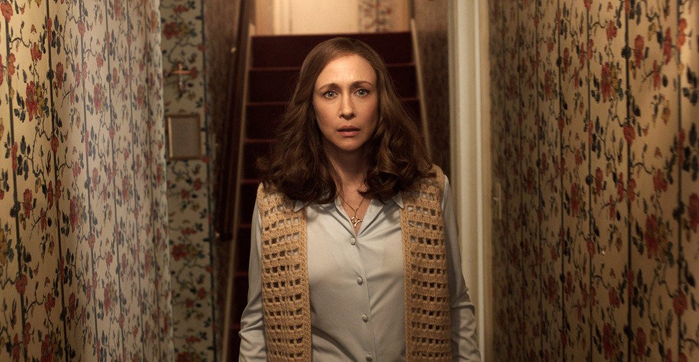 The Conjuring - Il caso Enfield: Vera Farmiga in un'immagine tratta dal film