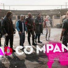 Suicide Squad: il gruppo in una foto promozionale