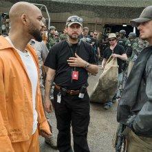Suicide Squad: Will Smith, Jai Courteney e Joel Kinnaman in una scena