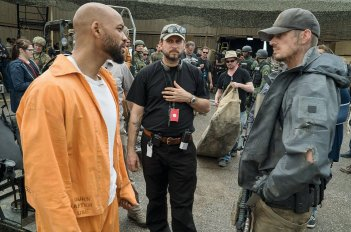 Suicide Squad: Will Smith, Jai Courteney e Joel Kinnaman in una scena