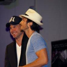 The Vampire Diaries: Matt Davis accanto a Ian Somerhalder alla Love and Blood convention