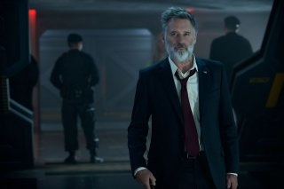 Independence Day: Rigenerazione - Bill Pullman in un momento del film
