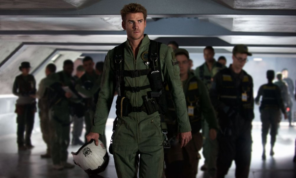 Independence Day: Rigenerazione - Liam Hemsworth in una scena del film