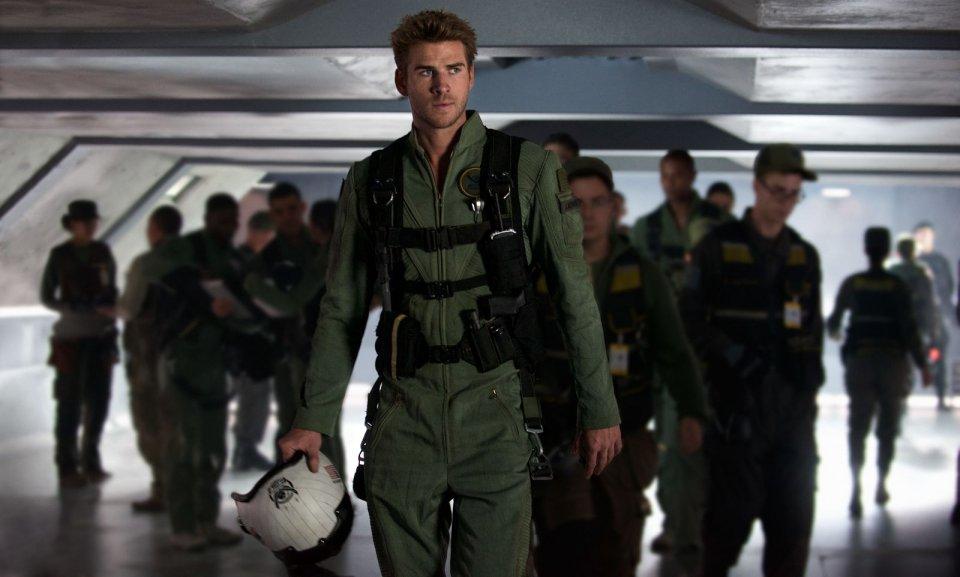 Independence Day: Rigenerazione - Liam Hemsworth in una scena del film