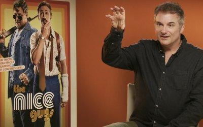 "Shane Black: ""Sul set di The Nice Guys Crowe è stato un'infermiera per Gosling"""