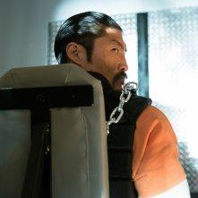 Tartarughe Ninja - Fuori dall'ombra: Brian Tee in una scena del film