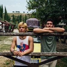 Il nostro ultimo: Fabrizio Colica e Guglielmo Poggi in un'immagine tratta dal film