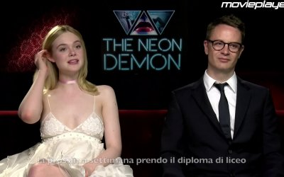 The Neon Demon: video-intervista a Elle Fanning e Nicolas Winding Refn
