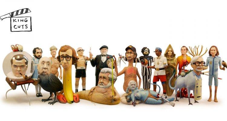 Da Tarantino a Scorsese, le sculture mashup dei registi e i loro film!