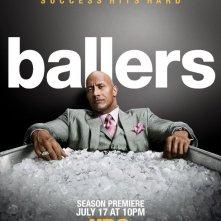Ballers: il poster della seconda stagione