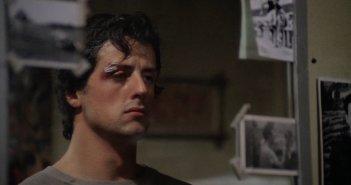Rocky: un bel primo piano di Sylvester Stallone