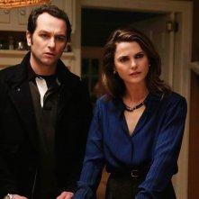 The Americans: Matthew Rhys e Keri Russel in un immagine della stagione 4