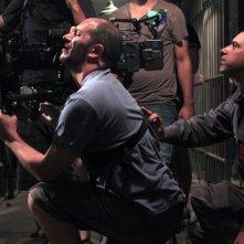 Il Clan: il regista Pablo Trapero al lavoro sul set con la troupe