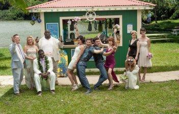 Mike & Dave: Un matrimonio da sballo, Anna Kendrick, Aubrey Plaza, Adam DeVine e Zac Efron in una foto promozionale