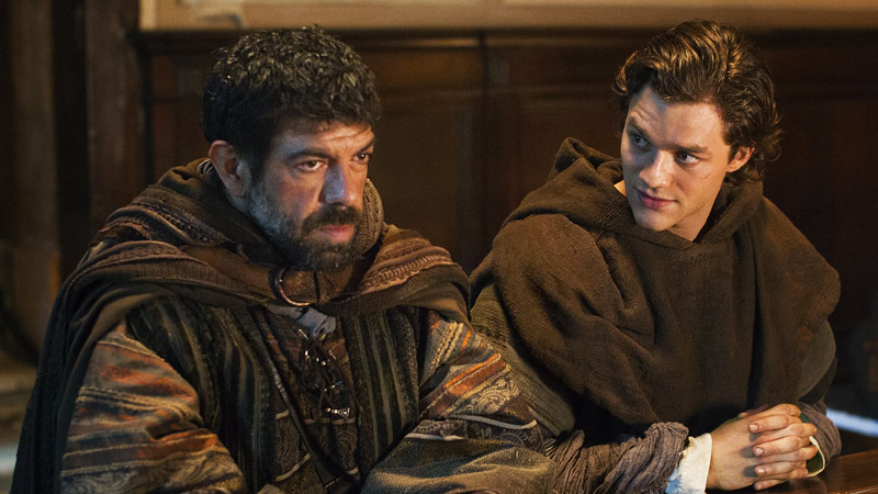 Marco Polo: Lorenzo Richelmy e Pierfrancesco Favino in una scena