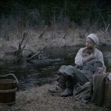 The Witch: Anya Taylor-Joy e Harvey Scrimshaw in un momento del film