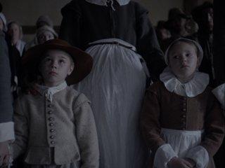 The Witch: Ellie Grainger e Lucas Dawson in una scena del film