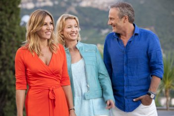 Torno da mia madre: Mathilde Seigner, Alexandra Lamy e Philippe Lefebvre in una scena del film