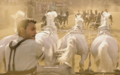 "Ben-Hur (2016) - ""Chariot Race"" Featurette"