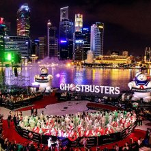 Ghostbusters: una foto dell'evento di Singapore