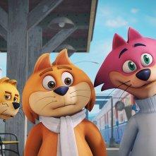 Top Cat e i gatti combinaguai: un momento del film animato