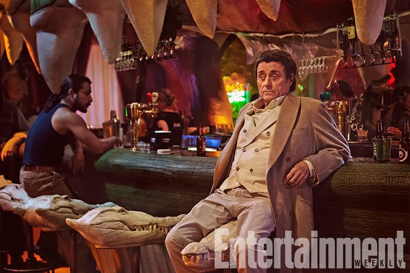 American Gods: Ian McShane in una foto della serie