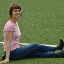 I babysitter: Simona Tabasco posa per i fotografi