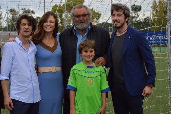 I babysitter: Francesco Mandelli, Diego Abatantuono, Francesca Cavallin, Paolo Ruffini.