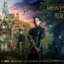 La casa per bambini speciali di Miss Peregrine: la locandina dedicata ai protagonisti